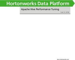 Hortonworks Data Platform - Apache Hive Performance Tuning