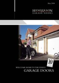 GARAGE DOORS - WELCOME HOME TO THE FINEST
