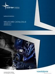 WELDCARE CATALOGUE 2020/21 - Lasting Connections - Voestalpine