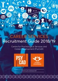 CAREER SERVICES Recruitment Guide 2018/19
