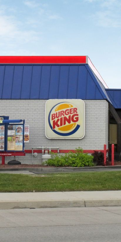 Burger King, Taco Bell, ridley's grocery