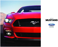 Ford Mustang 2015. Brochure.