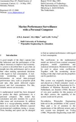 Marine Performance Surveillance with a Personal Computer