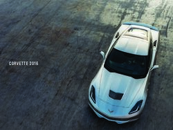 Chevrolet Corvette Stingray 2016 Brochure