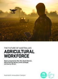 AGRICULTURAL WORKFORCE - THE FUTURE OF AUSTRALIA'S - Australia's ...
