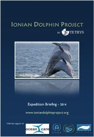 IONIAN DOLPHIN PROJECT - BY TETHYS