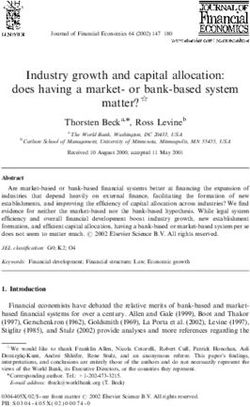Industry growth and capital allocation: does having a market- or bank-based system matter?$