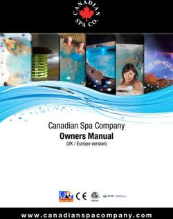 Owners Manual Canadian Spa Company