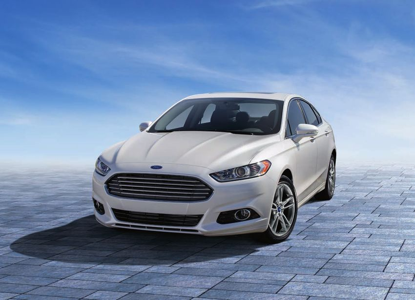 Ford Fusion 2016 Specifications