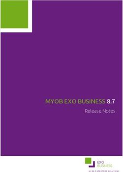 MYOB EXO BUSINESS 8.7 Release Notes