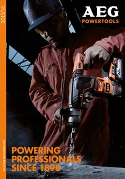 AEG Powertools Catalogue 2015/16