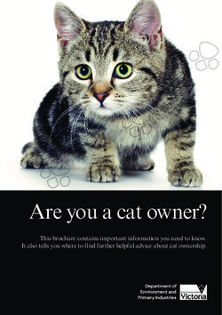 Are you a cat owner?