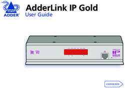 AdderLink IP Gold User Guide