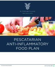 PESCATARIAN ANTI-INFLAMMATORY FOOD PLAN
