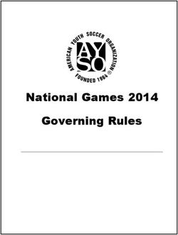 National Games 2014 Governing Rules