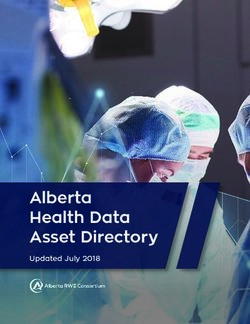 Alberta Health Data Asset Directory