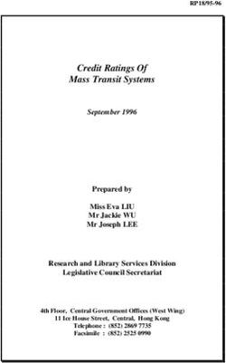 Credit Ratings Of Mass Transit Systems