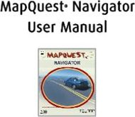 MAPQUEST NAVIGATOR USER MANUAL