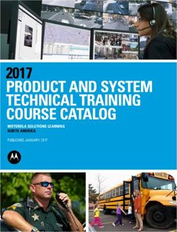 Product and System Technical Training Course Catalog 2017 - Motorola