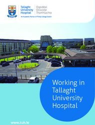 Working in Tallaght University Hospital - www.tuh.ie