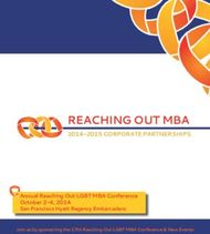 REACHING OUT MBA - 2014-2015 CORPORATE PARTNERSHIPS