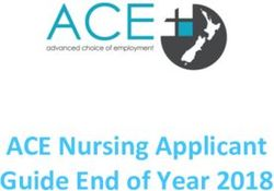ACE Nursing Applicant Guide End of Year 2018