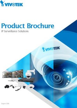 Vivotek Product Brochure 2016. IP Surveillance Solutions.
