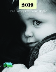 2019 Child Fatality Prevention Report - DPHHS