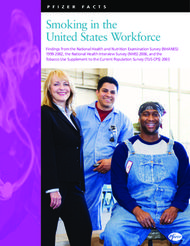 Smoking in the United States Workforce