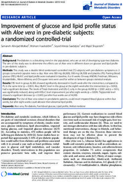 Improvement of glucose and lipid profile status with Aloe vera in pre-diabetic subjects: a randomized controlled-trial