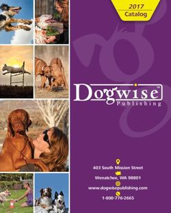 Dogwise Publishing Catalog 2017. Books & DVDs.