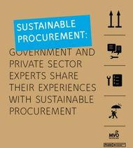 SUSTAINABLE PROCUREMENT: GOVERNMENT AND PRIVATE SECTOR EXPERTS SHARE THEIR ...