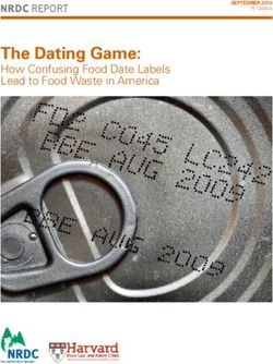 The Dating Game: How Confusing Food Date Labels Lead to Food Waste in America