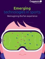Emerging - technologies in sports