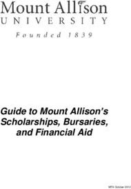 Guide to Mount Allison's Scholarships, Bursaries, and Financial Aid