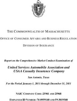 United Services Automobile Association and USAA Casualty Insurance Company