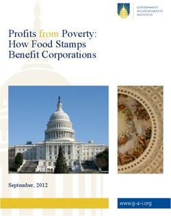 Poverty and food stamps