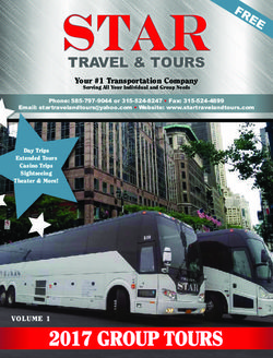Star Travel & Tours 2017