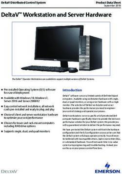 DeltaV Workstation and Server Hardware