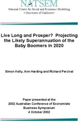 Live Long and Prosper? Projecting the Likely Superannuation of the Baby Boomers in 2020