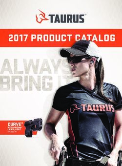 Taurus - Product Catalog 2017