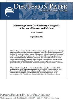 Measuring Credit Card Industry Chargeoffs: A Review of Sources and Methods