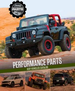 Jeep Performance Parts. Jeep Vehicles Catalog 2014.