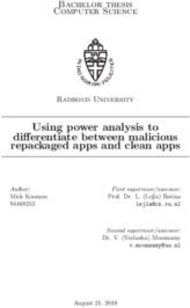 Using power analysis to differentiate between malicious repackaged apps and clean apps