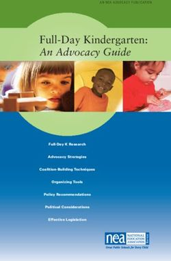 Full-Day Kindergarten: An Advocacy Guide