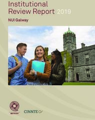 Institutional Review Report - NUI Galway