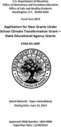 Application for New Grants Under School Climate Transformation Grant-State Educational Agency Grants