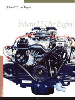 Subaru 2.2 Liter Engine