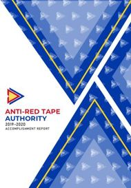 ANTI-RED TAPE AUTHORITY - 2019-2020 ACCOMPLISHMENT REPORT