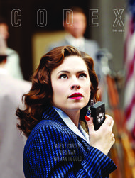AGENT CARTER BIRDMAN WOMAN IN GOLD